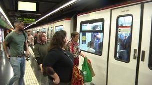 Un altre dia de vaga al metro de Barcelona