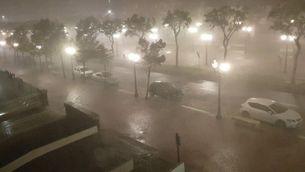 Aiguat nocturn a Tarragona