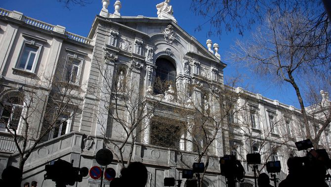 Façana principal del Tribunal Suprem (ACN)