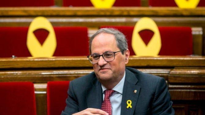 El Suprem manté la retirada de l'acta de diputat a Torra, decidida per la JEC