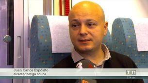 Primer viatge comercial del nou recorregut de l'Euromed entre Barcelona i València