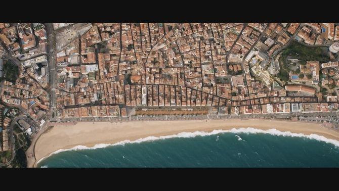 Imatge aèria de Lloret de Mar