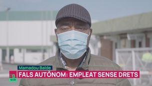 Planta baixa - 3.000 falsos autònoms més durant aquest any de pandèmia