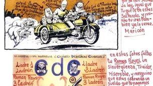 Amenaces a l'antic alcalde de Cervera, Manuel Royes