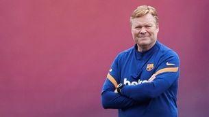 """Koeman: """"Em veig d'entrenador l'any que ve"""""""