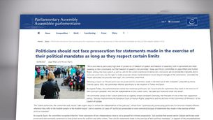 L'esborrany de l'informe del Consell d'Europa sobre l'1-O demana l'alliberament dels presos i la retirada de les euroordres