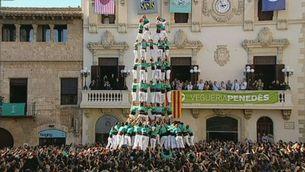 Els Castellers de Vilafranca fan història