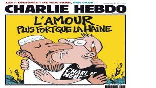 """Revista satírica """"Charlie Hebdo""""."""