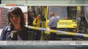 Mor un professor d'un institut de Barcelona per l'agressió d'un alumne