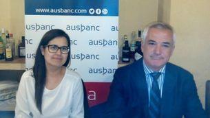 Montse Andrés i Luis Pineda