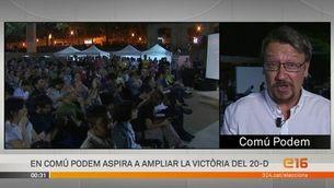 """Domènech: """"Proposarem un govern a la barcelonina"""""""