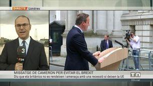 Ofensiva de Cameron per evitar el Brexit