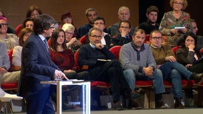 """Carles Puigdemont en 10 frases a """"Jo pregunto"""", de TV3"""