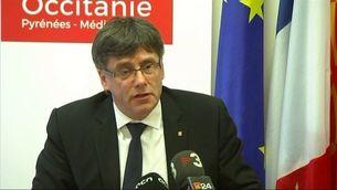 """Puigdemont desmenteix Millo: """"No hi ha cap negociació, ni privada ni oficial"""""""