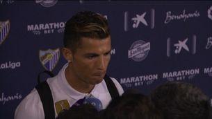 "Ronaldo: ""Parlen de mi com si fos un delinqüent"""