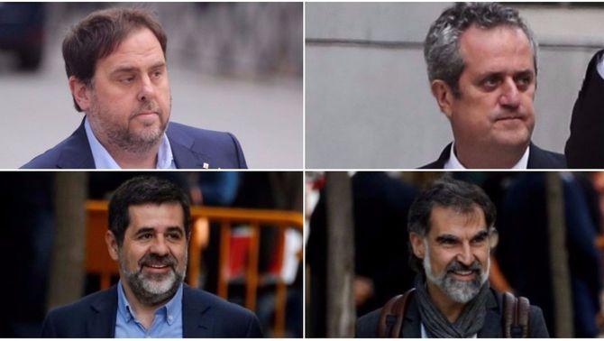 El jutge manté a la presó Junqueras, Forn i els Jordis i imposa una fiança per a la resta