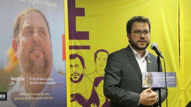 El vicepresident Pere Aragonès en un acte (ACN)