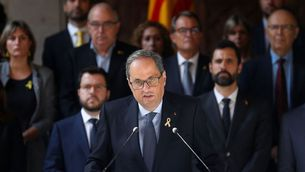 """Quim Torra: """"Rebutgem la sentència, per injusta i antidemocràtica"""" (Reuters)"""