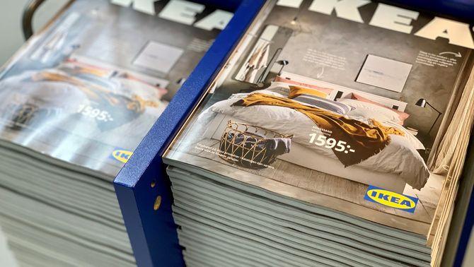 Ikea deixa d'imprimir el seu catàleg després de 70 anys