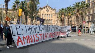 """Vaga d'estudiants contra la """"ràtzia repressiva"""" per l'empresonament de Pablo Hasél"""