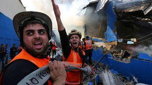 Gaza viu la pitjor nit d'atacs d'Israel davant la passivitat de la comunitat internacional