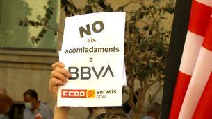 Acord entre sindicats i el BBVA per acomiadar uns 3.000 treballadors