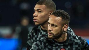 Crisi al PSG abans de rebre el City: enxampen Mbappé insultant Neymar a la banqueta