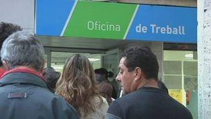 Primera treva de l'atur a Catalunya des del desembre
