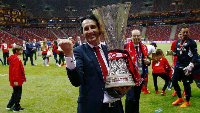 Unai Emery renova amb el Sevilla fins a l'any 2017