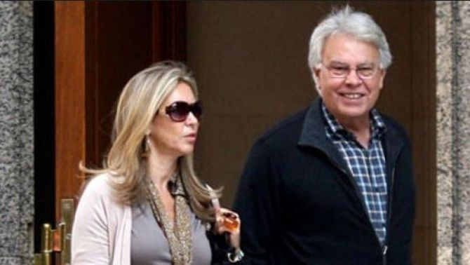 "La parella de Felipe González, als ""papers de Panamà"" per un negoci ""offshore"""