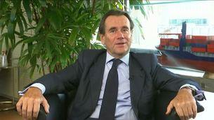 """El president del Port de Barcelona, Sixte Cambra, a """"Els matins"""" de TV3"""