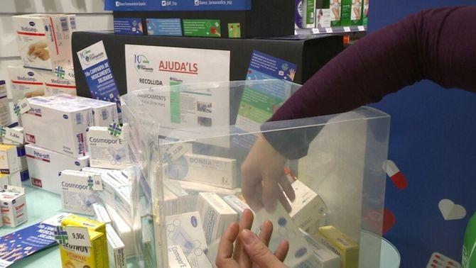 Més de 20.000 fàrmacs recollits en la campanya Medicaments Solidaris