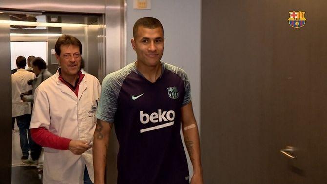 El Barça fa oficial la incorporació de Jeison Murillo