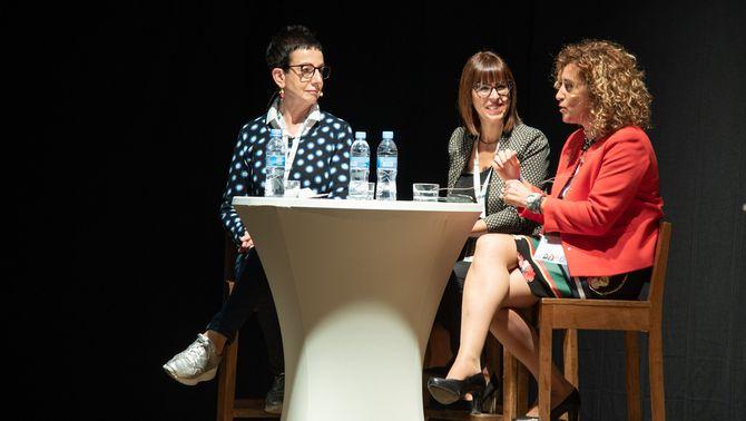 Un moment del Diàleg Talent, a la sisena edició de les Jornades per a l'excel·lència a Esterri d'Àneu. Imatge del 5 d'octubre de 2019…