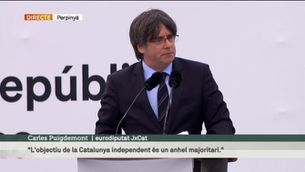 "Puigdemont: ""Preparem-nos per guanyar la lluita definitiva"""
