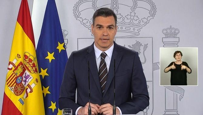 """Sánchez aprovarà l'ingrés mínim vital la setmana vinent i """"obre"""" el país al turisme al juliol"""
