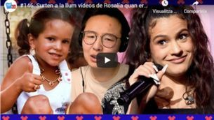 """""""Adolescents iCat""""18.06.20 """"Surten a la llum vídeos de Rosalía quan era adolescent"""""""