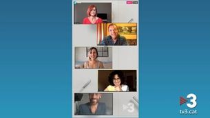 """Instagram Live de """"Com si fos ahir"""" amb els creadors i actors"""