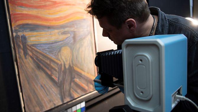 """L'enigmàtica frase oculta al quadre """"El crit"""" la va escriure Munch"""