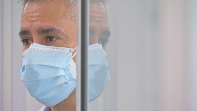 """Artur Huerta García, de metge de Covid a pacient: """"És una moneda a l'aire"""""""