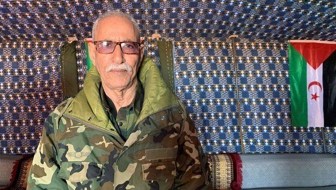 El líder del Front Polisario, Brahim Ghali