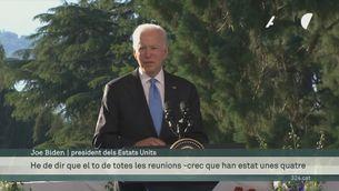 Biden i Putin compareixen per separat després de la cimera de Ginebra