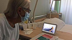 """El Bernat Jaume de Figueres instal·la assistents de veu a les habitacions de la segona planta per """"acompanyar"""" pacients"""