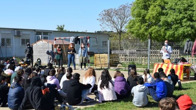 Sant Jordi a l'Institut Domus d'Olivet