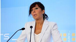 La presidenta del PP de Catalunya, Alícia Sánchez-Camacho, en una imatge d'arxiu (Foto: ACN)