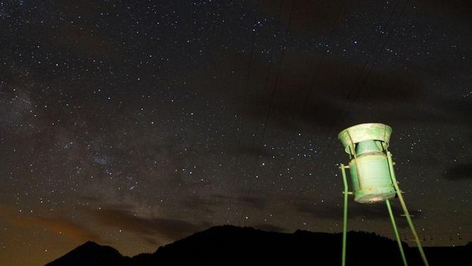 El cel al Port de la Bonaigua. Autors: Ramon i Conxi.