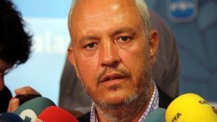El portaveu adjunt del Grup Parlamentari Popular, Santi Rodríguez