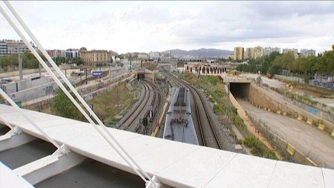 Foment revela irregularitats en les obres de l'estació de la Sagrera