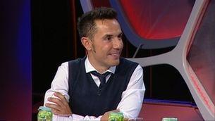 """Joaquim Rodríguez al plató d'""""Esport club"""""""