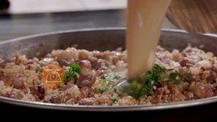 Arròs d'ànec i salsafins